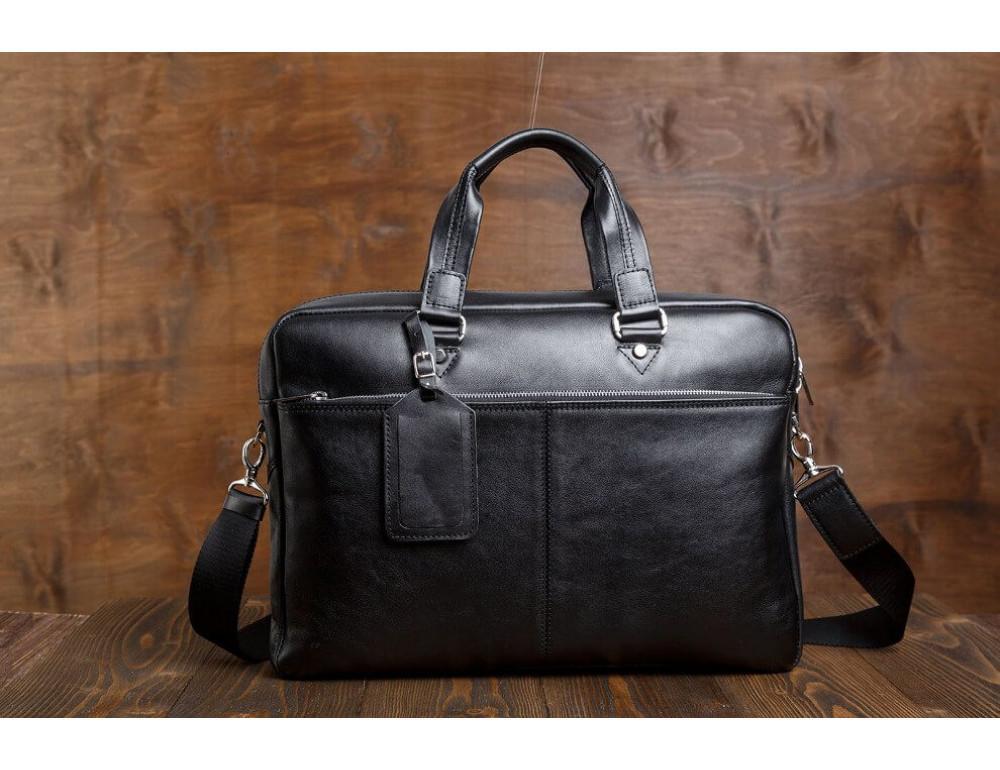 Мужской кожаный портфель Blamont Bn001A - Фото № 4