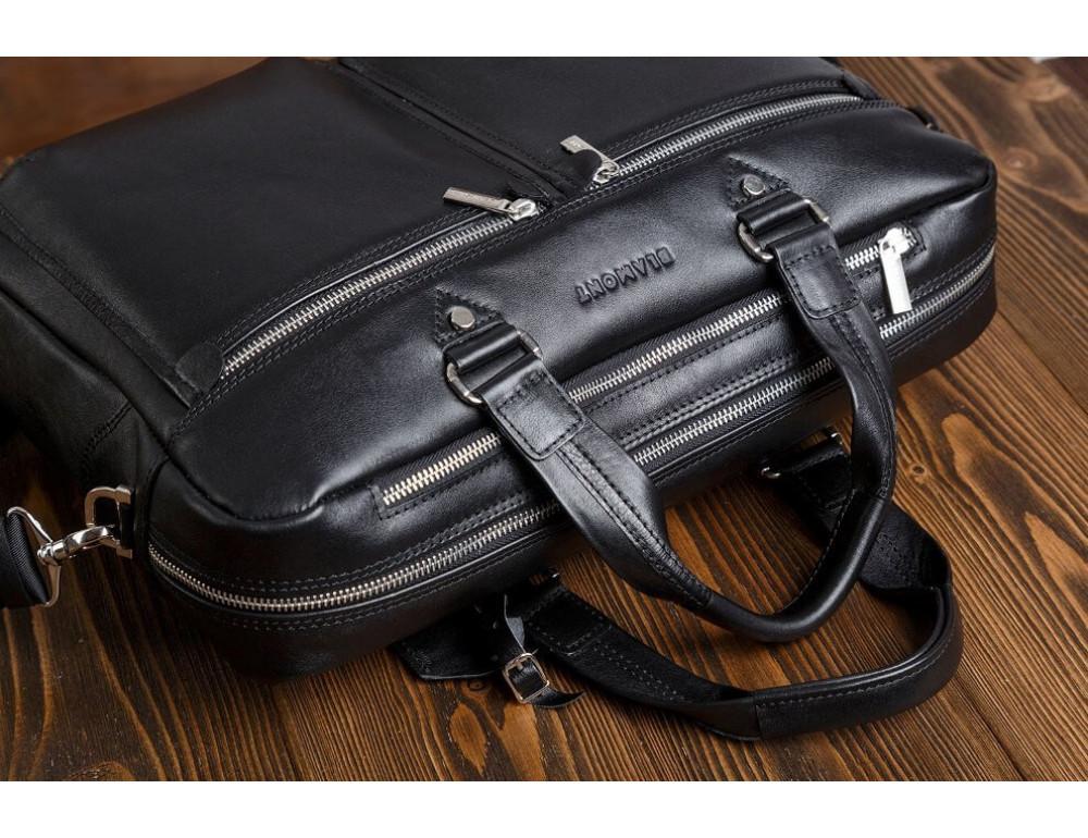 Мужской кожаный портфель Blamont Bn001A - Фото № 5