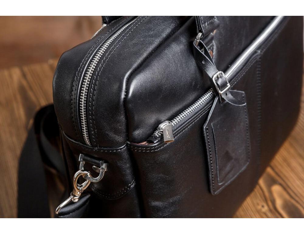Мужской кожаный портфель Blamont Bn001A - Фото № 6