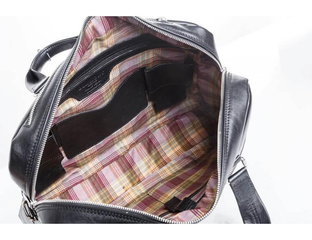 Мужской кожаный портфель Blamont Bn001A - Фото № 7