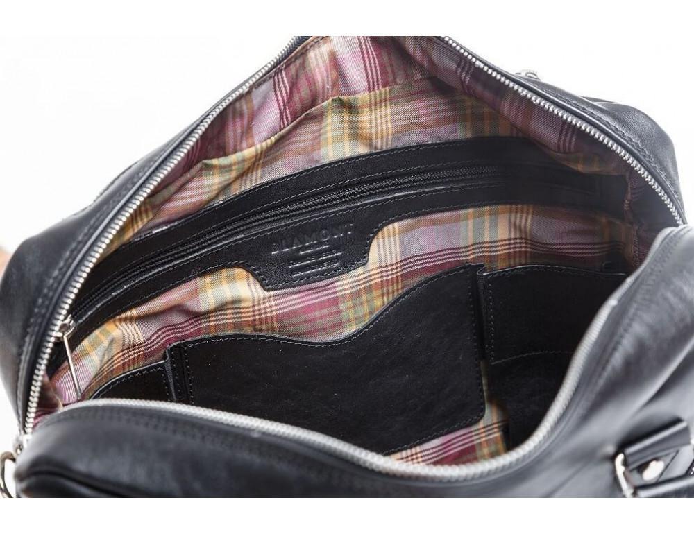 Мужской кожаный портфель Blamont Bn001A - Фото № 8