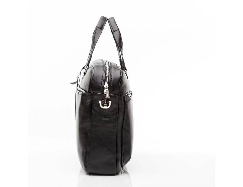 Мужской кожаный портфель Blamont Bn001A - Фото № 9