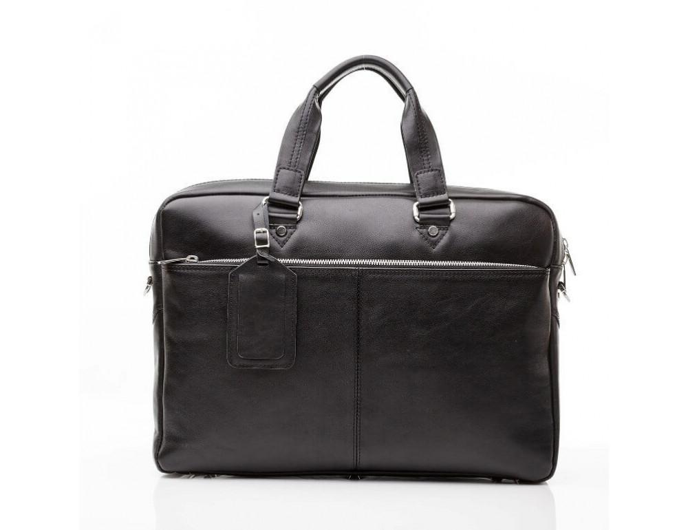 Мужской кожаный портфель Blamont Bn001A - Фото № 10