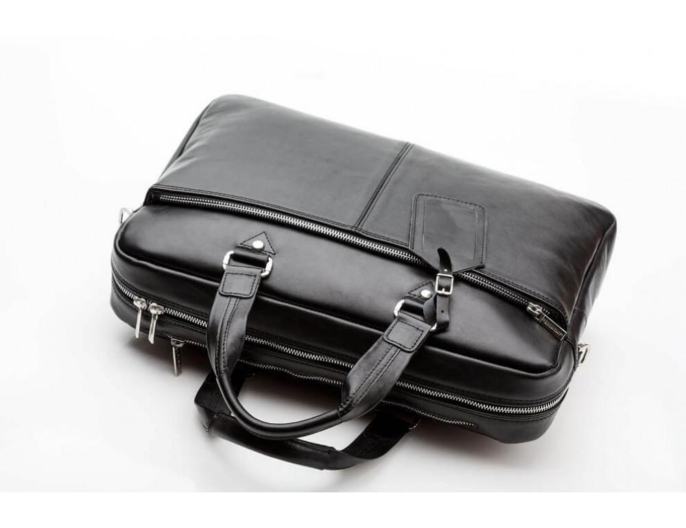 Мужской кожаный портфель Blamont Bn001A - Фото № 11