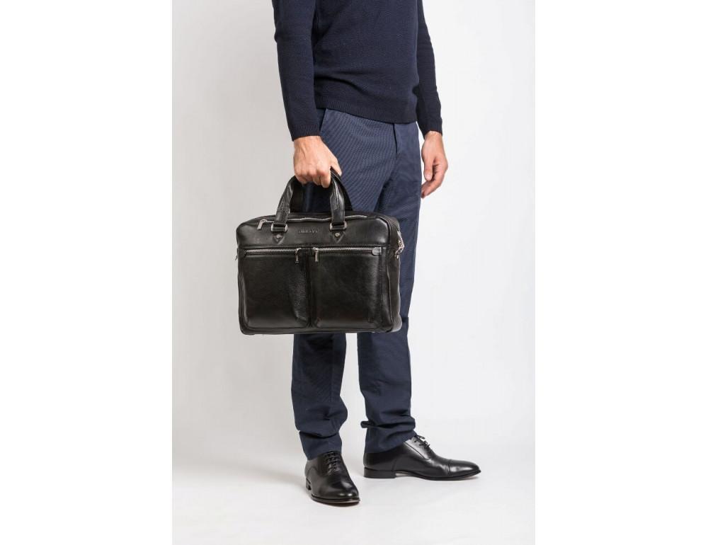 Мужской кожаный портфель Blamont Bn001A - Фото № 2