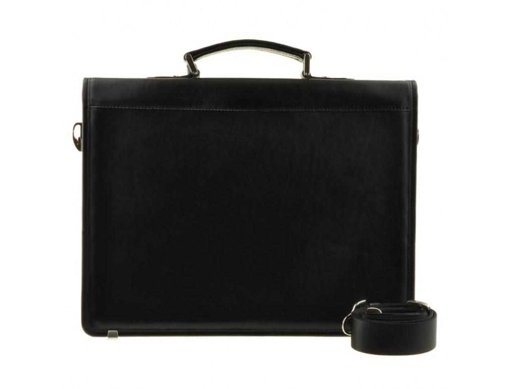 Мужской вместительный кожаный портфель Blamont Bn034A  - Фото № 2