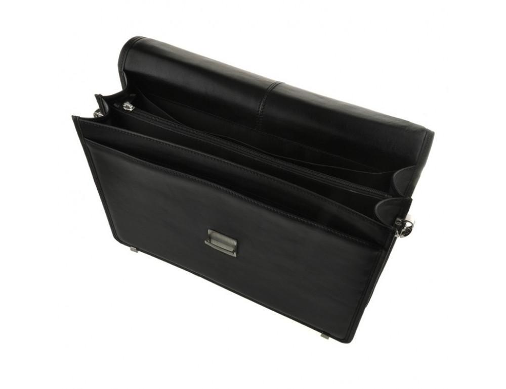 Мужской вместительный кожаный портфель Blamont Bn034A  - Фото № 6