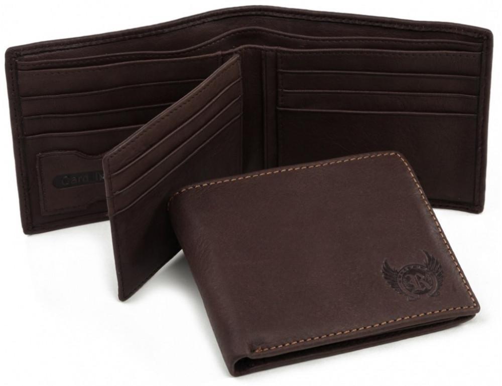 Мужской кожаный кошелёк Ruff Ryder RR-3737WB