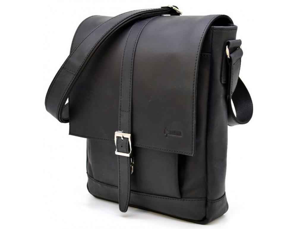 "Чёрная сумка через плечо на 13""1 TARWA RA-1811-4lx - Фото № 1"