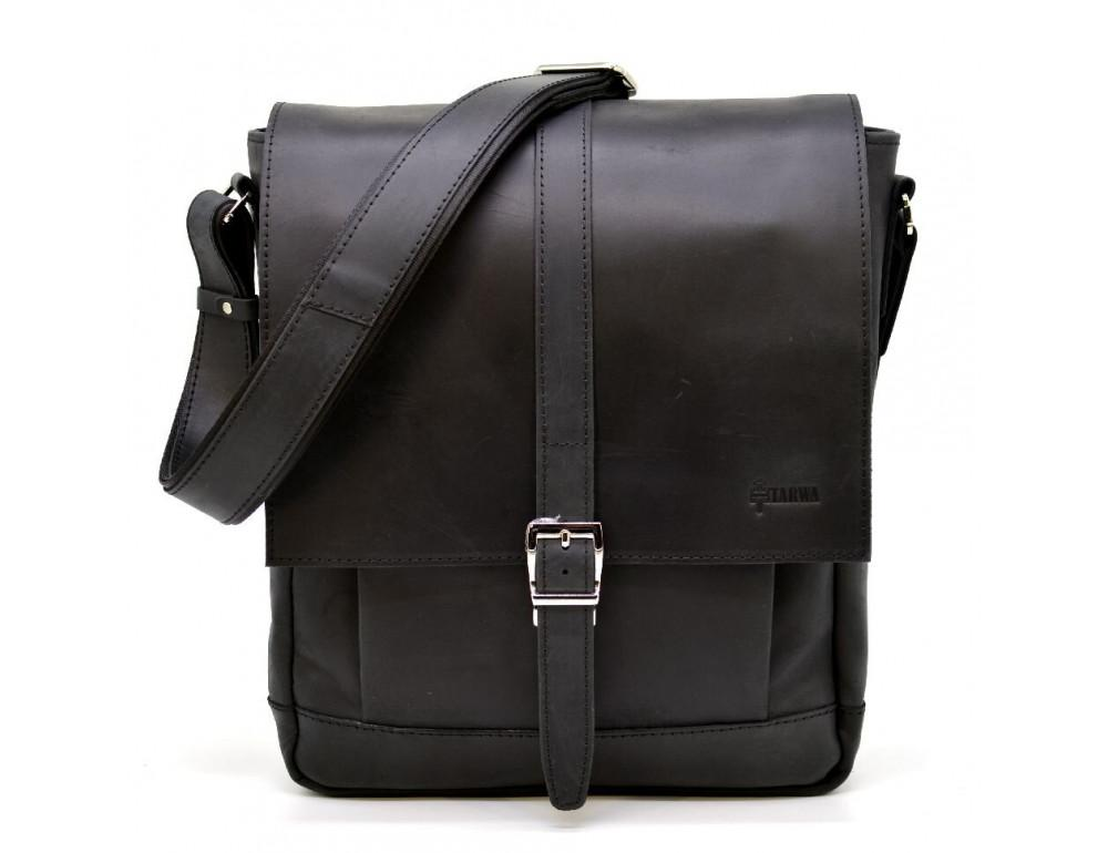 "Чёрная сумка через плечо на 13""1 TARWA RA-1811-4lx - Фото № 3"