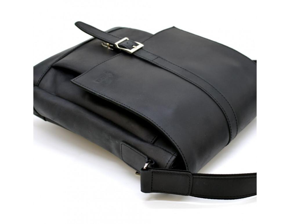 "Чёрная сумка через плечо на 13""1 TARWA RA-1811-4lx - Фото № 6"