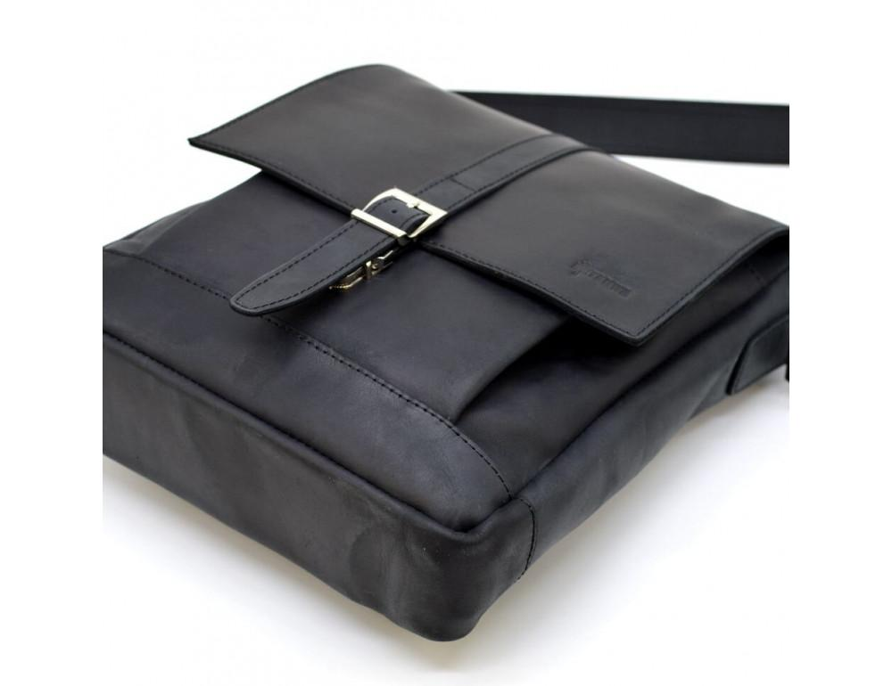 "Чёрная сумка через плечо на 13""1 TARWA RA-1811-4lx - Фото № 7"