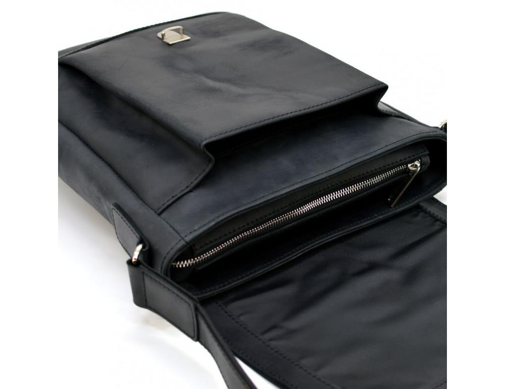 "Чёрная сумка через плечо на 13""1 TARWA RA-1811-4lx - Фото № 9"