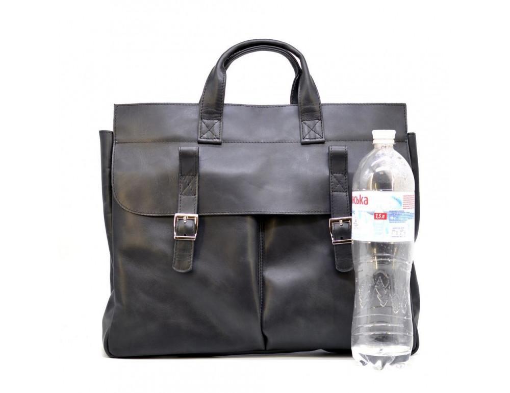 Большой кожаный портфель на 17 дюймов TARWA RA-7107-extra - Фото № 3