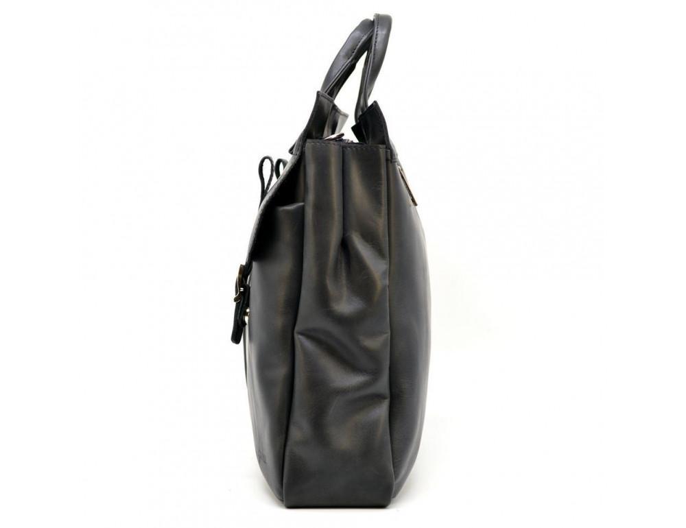 Большой кожаный портфель на 17 дюймов TARWA RA-7107-extra - Фото № 4