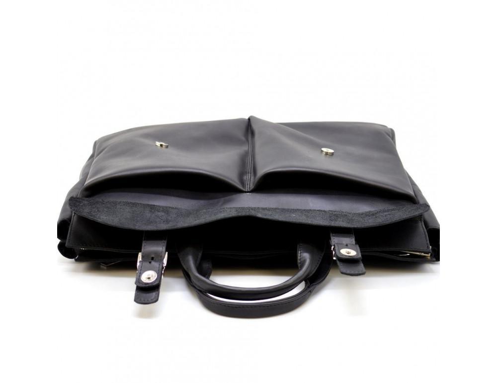 Большой кожаный портфель на 17 дюймов TARWA RA-7107-extra - Фото № 5