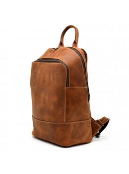 Коричневий жіночий рюкзак з вінтажній шкіри TARWA RB-2008-3md