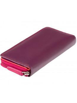 Женский кошелек Visconti RB55 Honolulu (Plum/Multi) бордовый