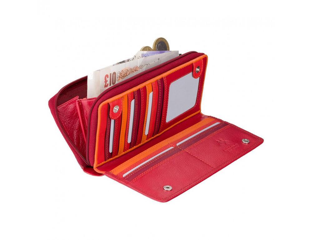 Женский кошелек Visconti RB55 RED M красный - Фото № 2