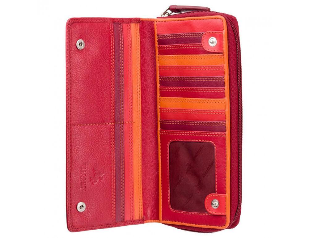 Женский кошелек Visconti RB55 RED M красный - Фото № 3