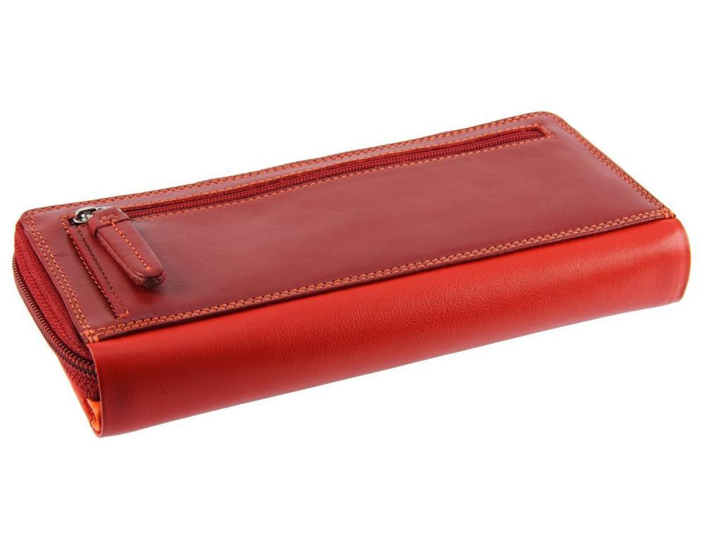 Женский кошелек Visconti RB55 RED M красный - Фото № 7
