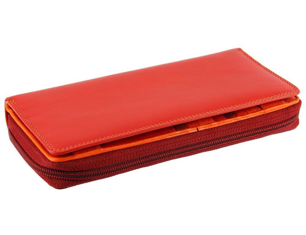 Женский кошелек Visconti RB55 RED M красный - Фото № 8