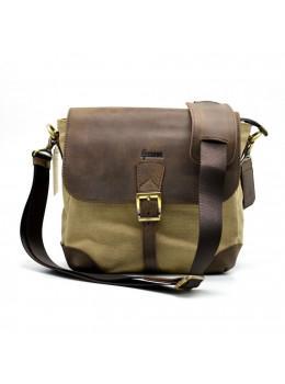 Коричнева чоловіча сумка через плече TARWA RС-1309-4lx