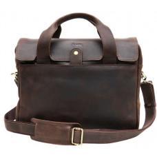 Необычный кожаный портфель мужской TARWA RС-1812-4lx