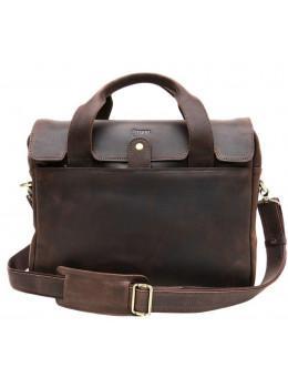 Незвичайний шкіряний портфель чоловічий TARWA RС-1812-4lx