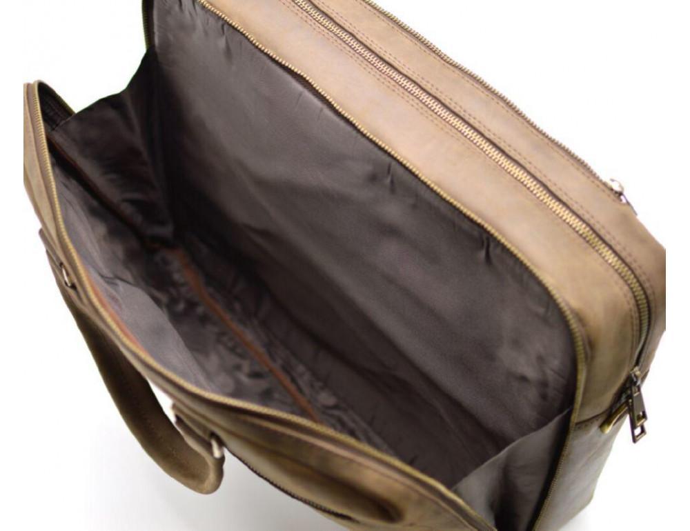 Стильный коричневый портфель TARWA RC-4664-4lx коричневый - Фото № 2