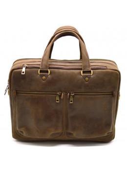 Стильний коричневий портфель TARWA RC-4664-4lx коричневий