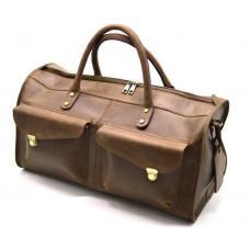 Коричневая дорожная сумка TARWA RC-5664-4lx