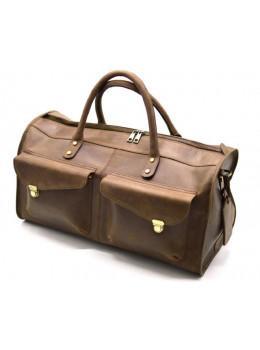 Коричнева дорожня сумка TARWA RC-5664-4lx