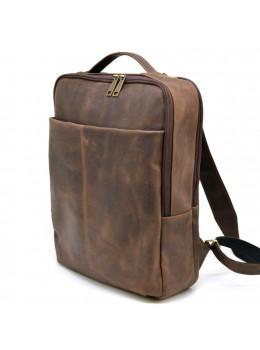 Коричневый мужской рюкзак с двумя отделениями Tarwa RC-7280-3md