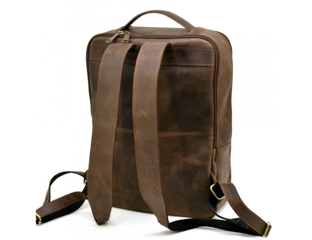 Коричневый мужской рюкзак с двумя отделениями Tarwa RC-7280-3md - Фото № 4