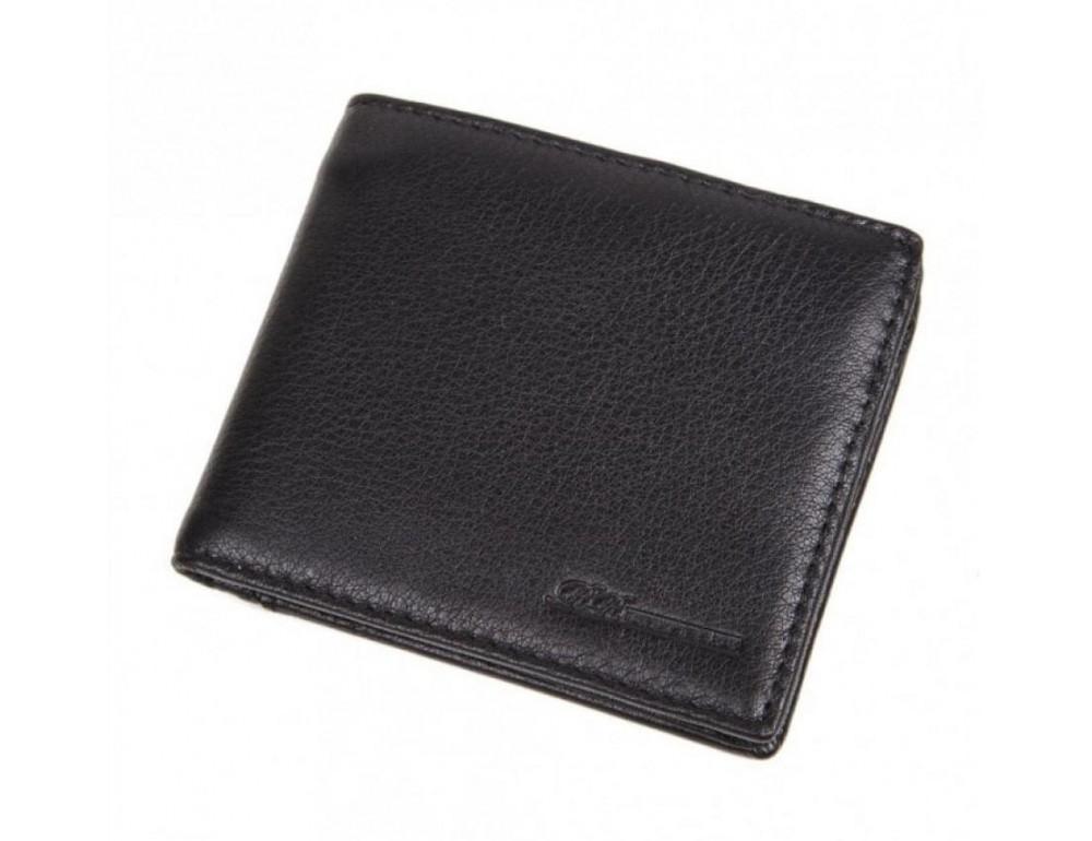 Кожаный портмоне Ruff Ryder RE-00274W черный - Фото № 1