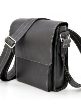 Чёрная мужская сумка-мессенджер TARWA RG-3027-3md