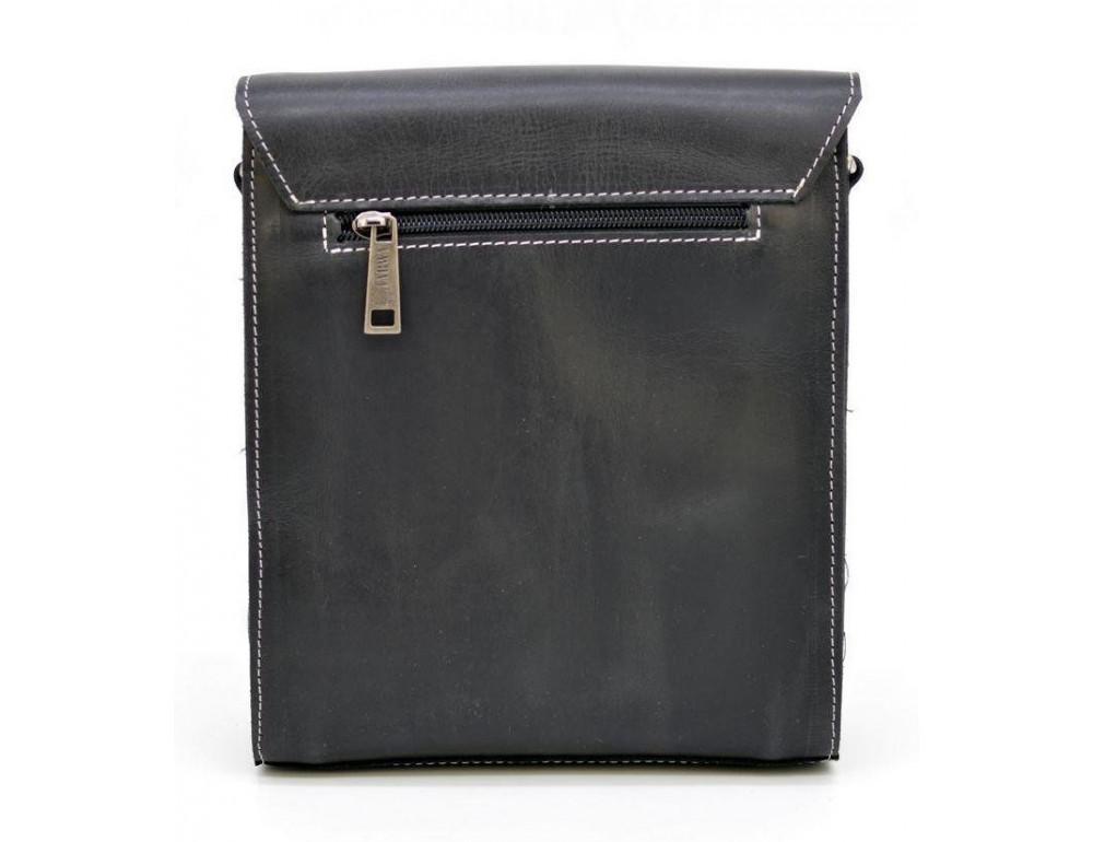 Чёрная мужская сумка-мессенджер TARWA RG-3027-3md - Фото № 4