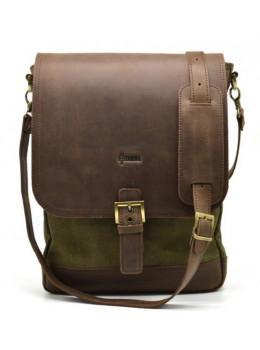 Коричнева чоловіча сумка через плече на 13 дюймів Tarwa RH-1808-4lx
