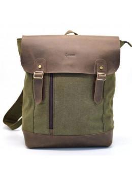 Чоловік міської рюкзак TARWA RH-3880-3md хакі з коричневим