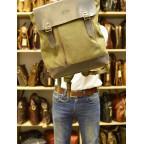 Мужской городской рюкзак TARWA RH-3880-3md хаки с коричневым - Фото № 108