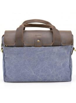 Стильна сумка під ноутбук TARWA RK-1812-4lx синя