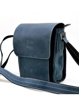 Синяя мужская сумка-мессенджер TARWA RK-3027-3md