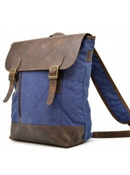 Мужской рюкзак на 14 дюймов с канвас и кожи Tarwa RK-3880-3md