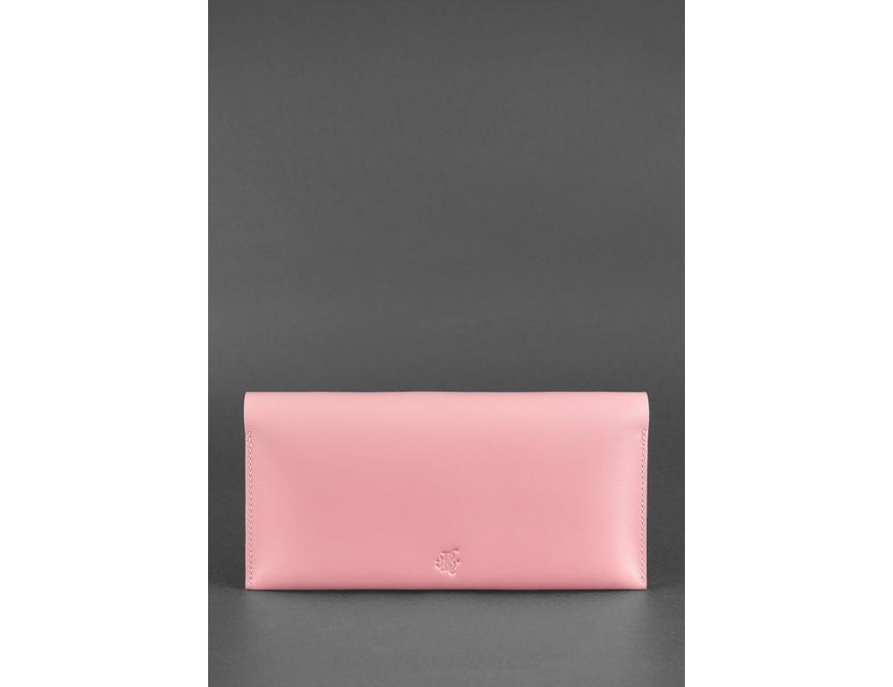 Розовый кожаный органайзер под документы Blanknote BN-TK-2-PINK-PEACH - Фото № 4