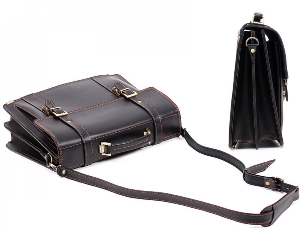 Мужской кожаный портфель Manufatto РВМ-3 - Фото № 4