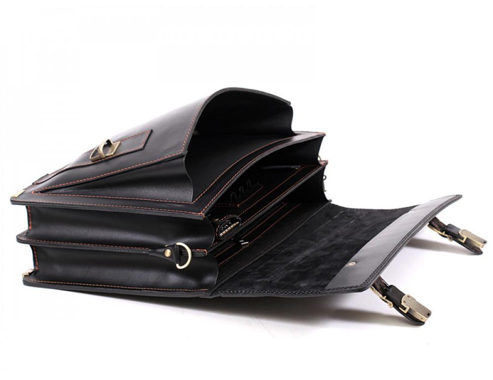 Мужской кожаный портфель Manufatto РВМ-3 - Фото № 6