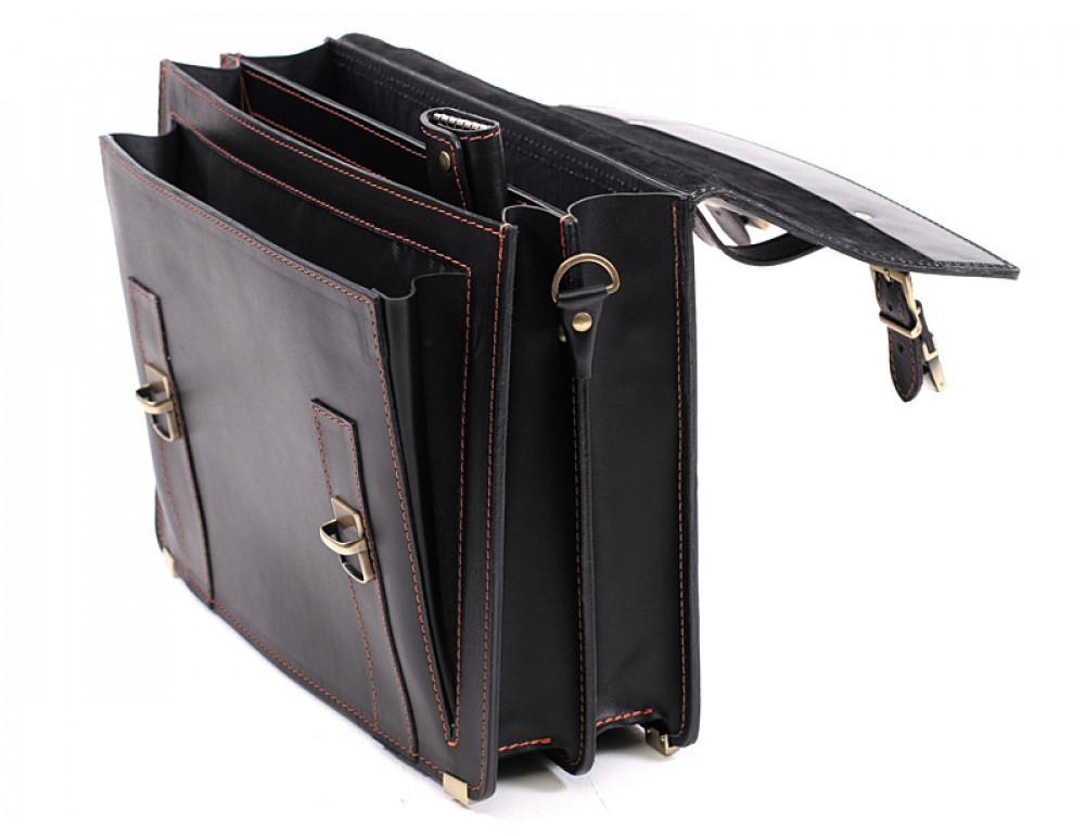 Мужской кожаный портфель Manufatto РВМ-3 - Фото № 7