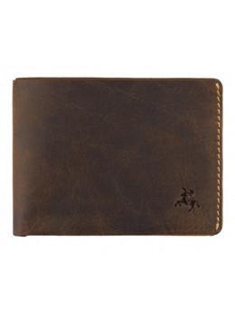 Коричневый портмоне мужской Visconti RW49 OIL TAN Dollar