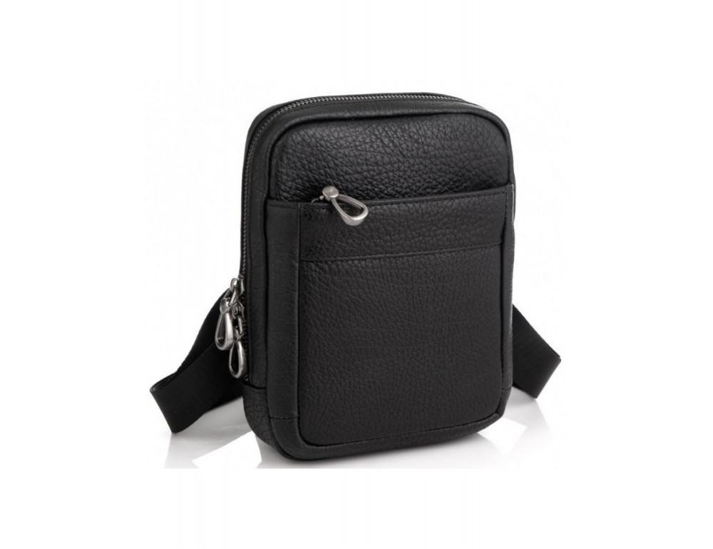 Маленькая чёрная сумка через плечо Tavinchi S-001A - Фото № 1